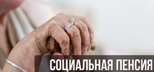Социальное пенсионное содержание